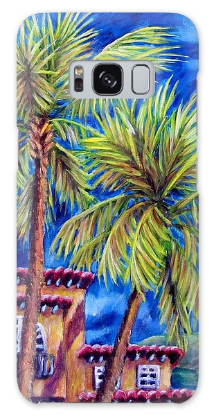 Spanish Palms Galaxy Case