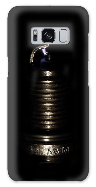 Spark Plug Galaxy Case by David Andersen