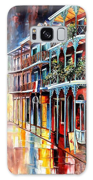 Reflections Galaxy Case - Sparkling French Quarter by Diane Millsap