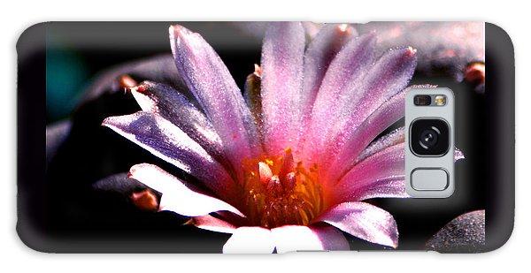Sparkling Peyote Flower Galaxy Case