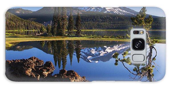 Sparks Lake Sunrise Galaxy Case