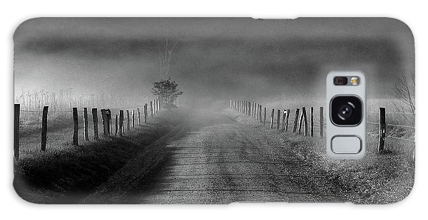 Sparks Lane In Black And White Galaxy Case