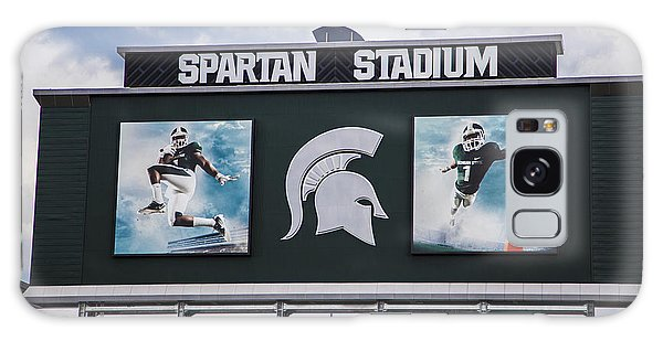 Spartan Stadium Scoreboard  Galaxy Case by John McGraw