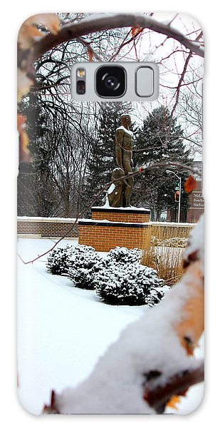Sparty In The Winter Galaxy Case by John McGraw