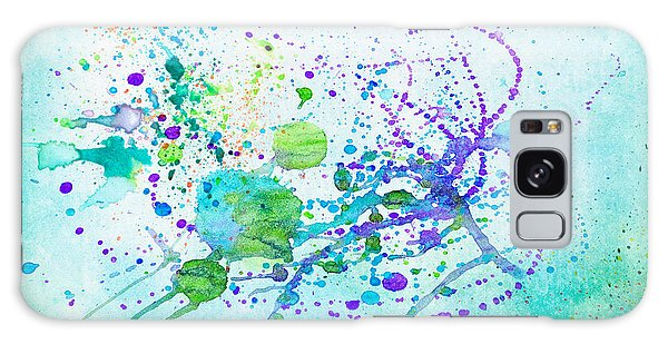 Spatter Galaxy Case