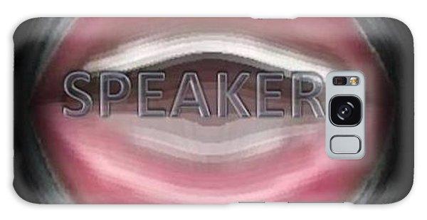 Speakers Galaxy Case by Catherine Lott
