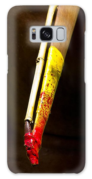 Galaxy Case featuring the photograph Spear Thrower Woomera by Debbie Cundy