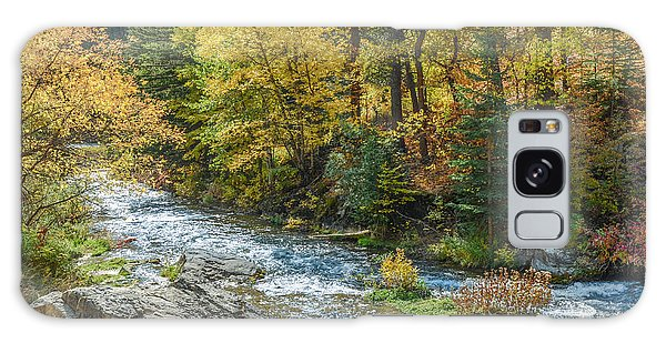 Spearfish Creek Autumn Galaxy Case