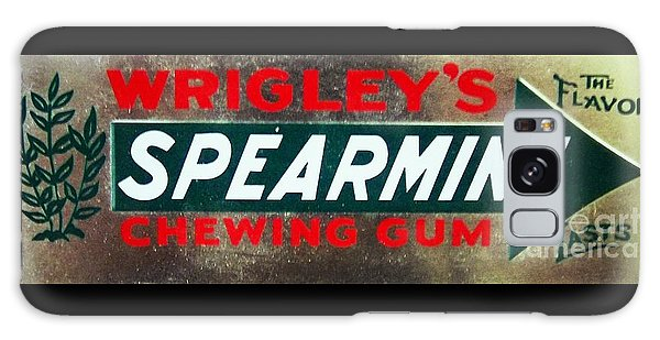 Spearmint Gum Sign Vintage Galaxy Case
