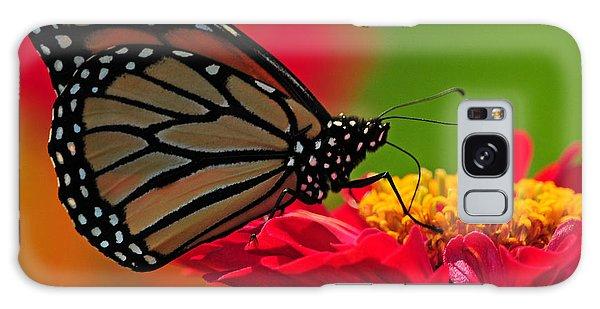 Speckled Monarch Galaxy Case by Olivia Hardwicke