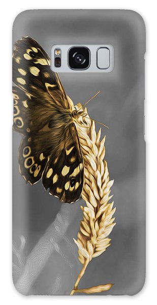 Speckled Wood Butterfly Galaxy Case