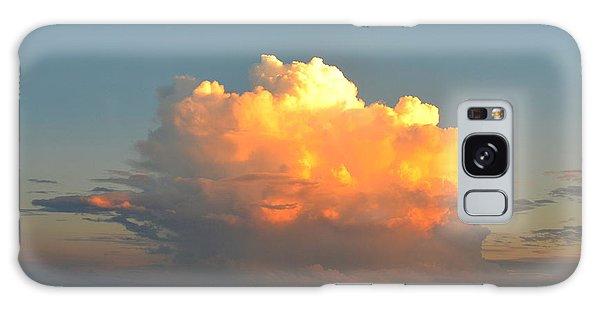 Spectacular Cloud In Sunset Sky Galaxy Case