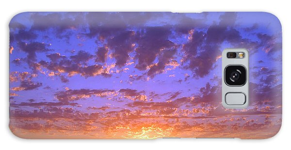 Spectacular Sunset  Galaxy Case by Debra Thompson