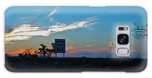 Speed Limit 80mph - No.0027 Galaxy Case