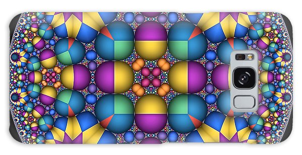 Sphere Packed Hyperbolic Disk II Galaxy Case by Manny Lorenzo