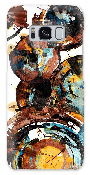 Spherical Happiness Series - 993.042212 Galaxy Case by Kris Haas