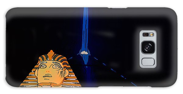 Beam Galaxy Case - Sphinx And Luxor Hotel Beam Las Vegas - Pop Art Style by Ian Monk