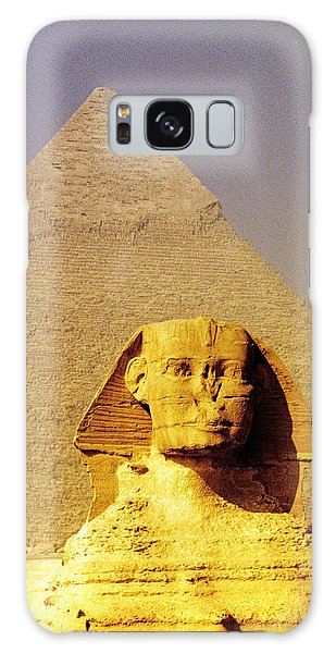 Sphinx And Pyramid Galaxy Case by Dennis Cox WorldViews