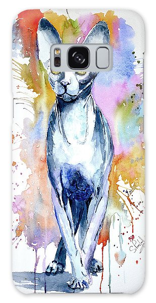 Sphinx Cat Galaxy Case by Steven Ponsford