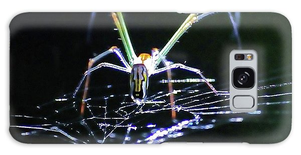 Spider Lights Galaxy Case by Kicking Bear  Productions