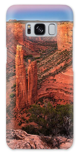 Spider Rock Sunset Galaxy Case by Alan Vance Ley