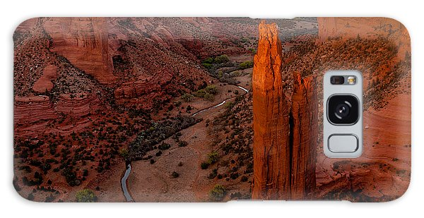 Spider Rock Sunset Galaxy Case by Tim Bryan