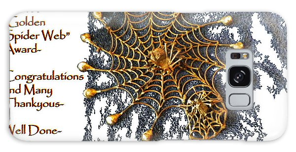 Spider Web Congratulation Thank You Well Done Galaxy Case