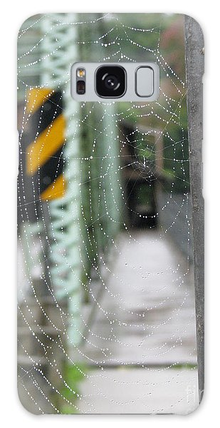 Spider Web Galaxy Case by Michael Krek