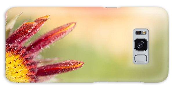Spider's Stitch On Blanket Flower Galaxy Case