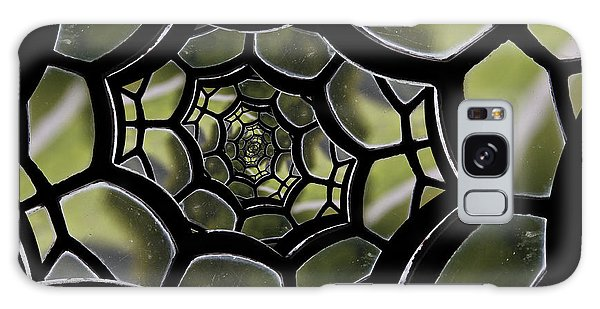 Spider's Web. Galaxy Case by Clare Bambers