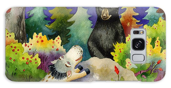 Spike The Dhog Encounters A Mother Bear In The Forest Galaxy Case
