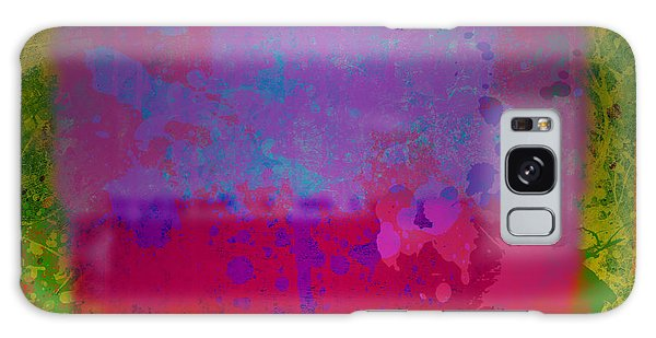 Spills And Drips Galaxy Case
