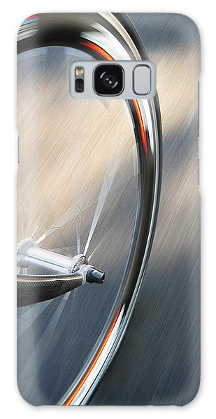 Bicycle Galaxy Case - Spin by Jeff Klingler