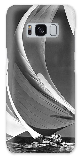 Spinakers On Racing Sailboats Galaxy Case