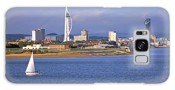 Spinnaker Tower And Gunwharf Quays Galaxy Case