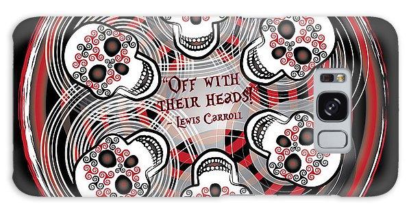 Spinning Celtic Skulls Galaxy Case