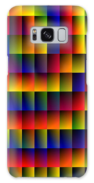 Spiral Boxes Galaxy Case by Bartz Johnson