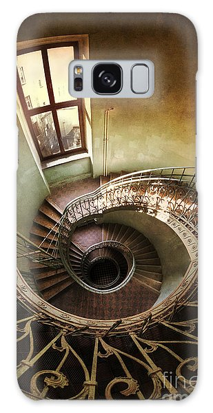 Spiral Staircaise With A Window Galaxy Case