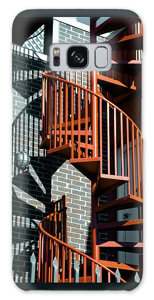 Spiral Stairs - Color Galaxy Case