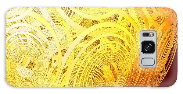Spiral Sun By Jammer Galaxy Case
