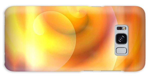 Spiraled Square Abstract Galaxy Case