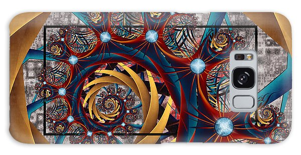 Spiraling Galaxy Case by Kim Redd