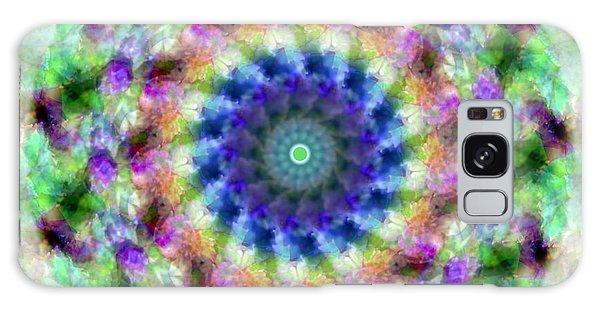 Spirea Mandala #1 Galaxy Case