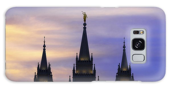 Temple Galaxy Case - Spires by Chad Dutson