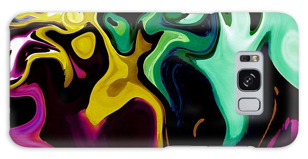 Spirit Dance An Abstract Modern Contemporary Digital Art Galaxy Case by Annie Zeno