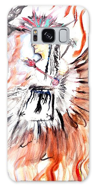 Spirit Dancer Galaxy Case by Ayasha Loya