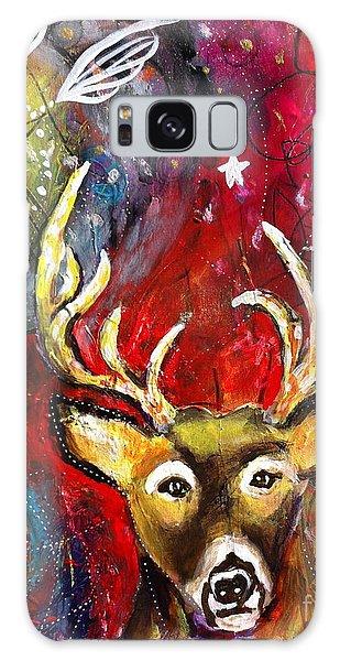 Spirit Deer And The Dreamcatcher Galaxy Case