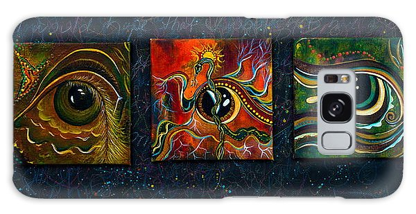 Spirit Eye Collection I Galaxy Case