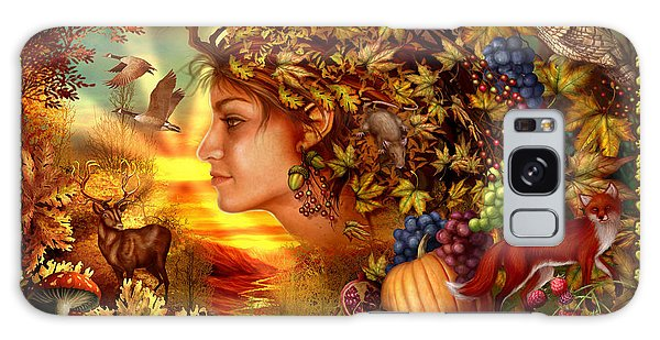Horizontal Galaxy Case - Spirit Of Autumn by MGL Meiklejohn Graphics Licensing