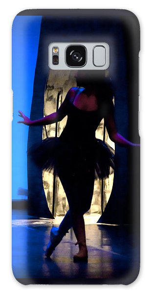 Spirit Of Dance 3 - A Backlighting Of A Ballet Dancer Galaxy Case